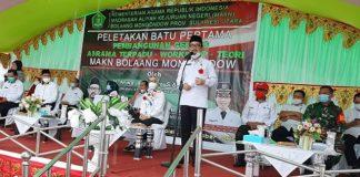 Kakanwil Kemenag Provinsi Sulut Beber Paran Yasti dalam Pembangunan MAKN