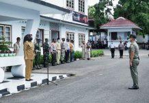 Wali Kota Kotamobagu Pimpin Apel Perdana Satgas Pencegahan Covid-19