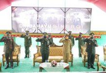 Wali Kota Kotamobagu Ikuti Upacara Peringatan HUT ke-75 TNI