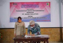 Gaji ASN Pemkot Kotamobagu Kembali ke Bank SulutGo