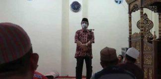 Pjs Bupati Bolsel Laksanakan PISB di Masjid Amirul Mu'minin
