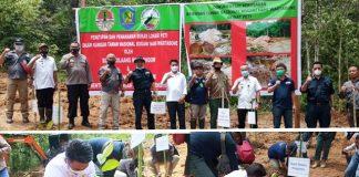 PETI Potolo Ditutup, Pemkab Bolmong dan Balai TNBNW Lakukan Penghijauan