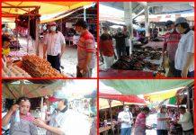 Pjs Bupati Bolsel Pantau Harga Bahan Pokok di Pasar Tradisional Soguo