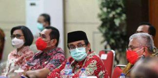 Ikut Raker Bersama Pjs Gubernur, Praseno Hadi: Pemkab Bolsel Siap Menindaklanjuti Setiap Arahan