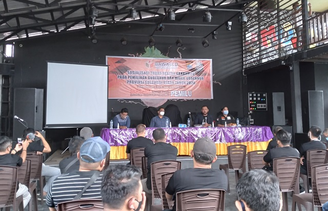 Bawaslu Sulut Gelar Sosialisasi GAKKUMDU Pilgub Sulut Tahun 2020 di Kota Kotamobagu
