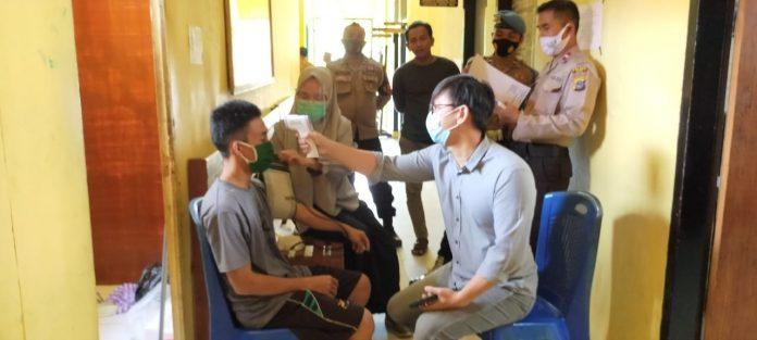 Urkes Polres Buol Cek Kondisi Kesehatan Tahanan