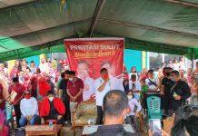 Turun ke Bolmong, Olly Dondokambey Bantu Masjid di Sangtombolang