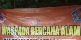 BPBD Imbau Warga Tetap Waspada Bencana