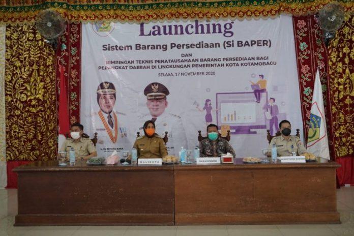 Wali Kota Launching Aplikasi Si Baper