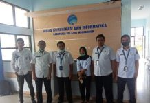 Diskominfo Bolsel Belajar Penggunaan Tanda Tangan Elektronik di Bolmong