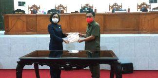 DPRD Bolmong Gelar Rapat Paripurna Nota Kesepakatan KUA-PPAS APBD Tahun 2021