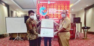 Pemkab Bolmong Raih Penghargaan Sebagai Kabupaten Cukup Peduli HAM