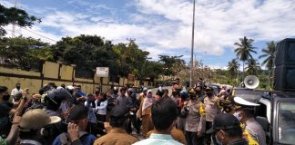 FPKD Buol Gelar Aksi Solidaritas Pemukulan Kades Jatimulya