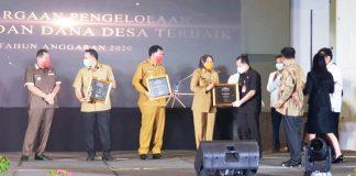 Terima Tiga Penghargaan dari Kemenkeu, Tatong: Semua dapat Kita Capai Berkat Kerja Keras Semua Pihak
