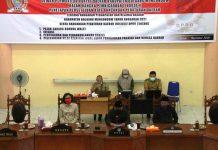 DPRD Bolmong Gelar Paripurna Tahap II Penetapan Ranperda APBD Tahun 2021