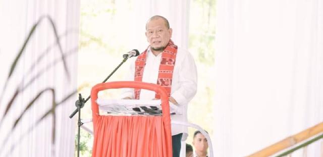 Ketua DPD RI LaNyalla Laporkan 4 Wilayah yang Layak Jadi Provinsi Baru