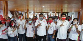 Seknas Jokowi Sulut Siap Bekerja untuk Menagkan Olly-Steven di Pilgub