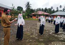 Sekolah di Bolmong Gelar Simulasi KBM Tatap Muka