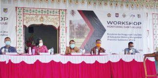 Bupati Bolmong Buka Workshop Monitoring dan Evaluasi Penyaluran Dandes