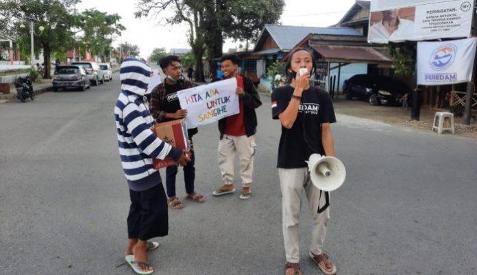 Relawan Muda Molibagu Galang Dana untuk Korban Banjir di Sangihe