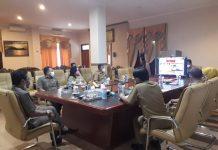Bupati Boltim dan Jajaran Mengikuti Entry Meeting Bersama BPK Perwakilan Sulut