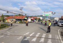 Turjagli Polres Buol Ciptakan Keamanan Bagi Pengendara