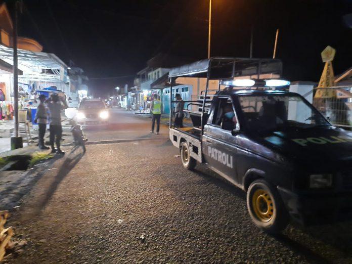 Polsek Paleleh Patroli Malam Hari Cegah Kriminalitas