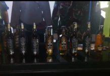 Tim Nataru Pelabuhan Leok Buol Amankan Puluhan Botol Minuman Keras Impor