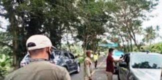 Satgas Covid-19 Gelar Operasi Justisia di Pintu Masuk Kota Kotamobagu
