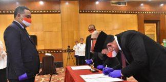 Dilantik sebagai Kepala UPT BP2MI Sulut, Hendra Ucapkan Terima Kasih Atas Amanah yang Diberikan