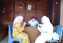 Setiap Orang Berkunjung di Rudis Bupati, Wakil Bupati dan Sekda Bolmut Wajib Rapid Antigen Covid-19