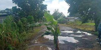 Dinas PUPR Bolmong Siapkan Rp 2 Miliar Untuk Pembangunan Jalan Rusak di Desa Tapadaka