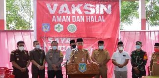 Pemkab Bolsel Launching Vaksinasi Covid-19