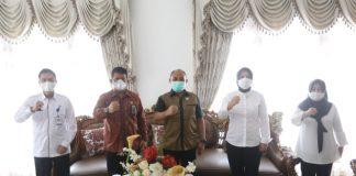 Tatong Bara Terima Kunker Kepala BNN Provinsi Sulut