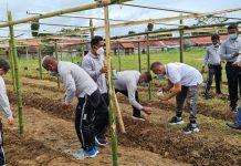 Pengadilan Militer III-17 Manado Gelar Penanaman Pohon Bersama Insan Pers