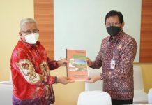 Kunker ke BNPP, Amin Lasena Sampaikan Aspirasi Masyarakat Pinogaluman Terkait Abrasi