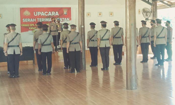 AKBP Dieno Hendro Widodo, Pimpin Sertijab 6 Perwira di Jajaran Polres Buol