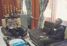Dialog Seputar Penegakkan Hukum, Abdul Rachman Thaha Kunjungi Polres Buol