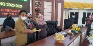 DPRD Buol Rapat Paripurna Penyampaian Laporan Hasil Reses