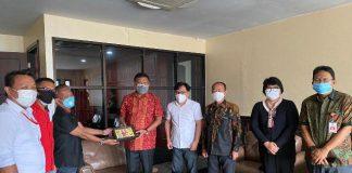 Pengurus PWI Provinsi Audiensi dengan Gubernur Sulut