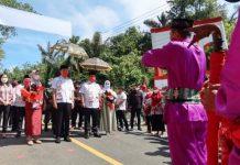 Iskandar Kamaru dan Deddy Abdul Hamid Dijemput dengan Empat Adat di Bolsel