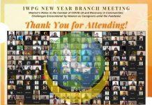 Cabang IWPG Secara Kolaboratif Menyelenggarakan Pertemuan Tahun Baru