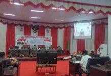 Tatong Hadiri Rapat Paripurna Pembicaraan Tingkat l Ranperda Inisiatif DPRD Kota Kotamobagu