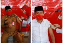 Plh Bupati Bolsel dan Iskandar Kamaru Akhirnya Terima Vaksinasi Covid-19