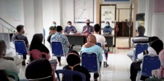 Dinsos Kota Kotamobagu Gelar Pertemuan dengan Keluarga Ahli Waris Pasien Meninggal karena Covid-19