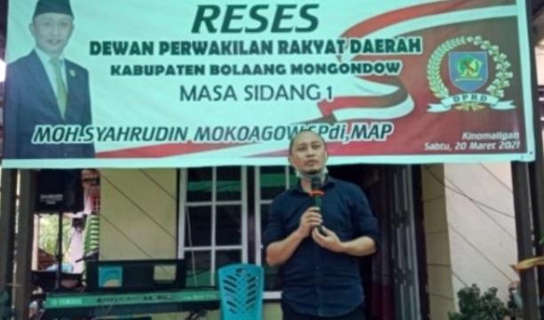 Legislator DPRD Bolmong Dapil VI Serap Aspirasi Masyarakat