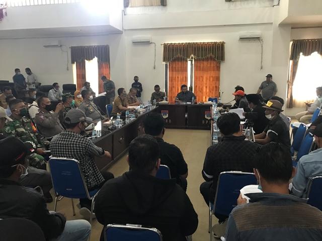 Aliansi Pemerhati Malintang Berdialog Bersama DPRD Boltim Soal Pembebasan Lahan