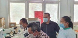 Sejumlah Aleg Kota Kotamobagu Lakukan Cek Fasilitas Pemeriksaan Covid-19 di RSUD