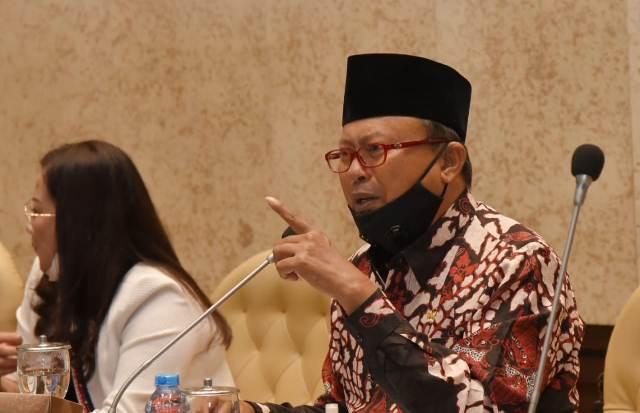 RDP Bersama Kemendes PDTT, H2M Pertanyakan Konsep Penerapan 50 % Padat Karya Tunai Desa