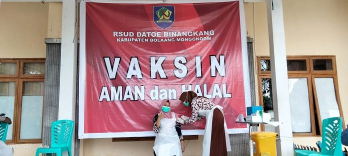 Vaksinasi Covid Tahap 2 di Bolmong Sudah Mencapai 50 Persen